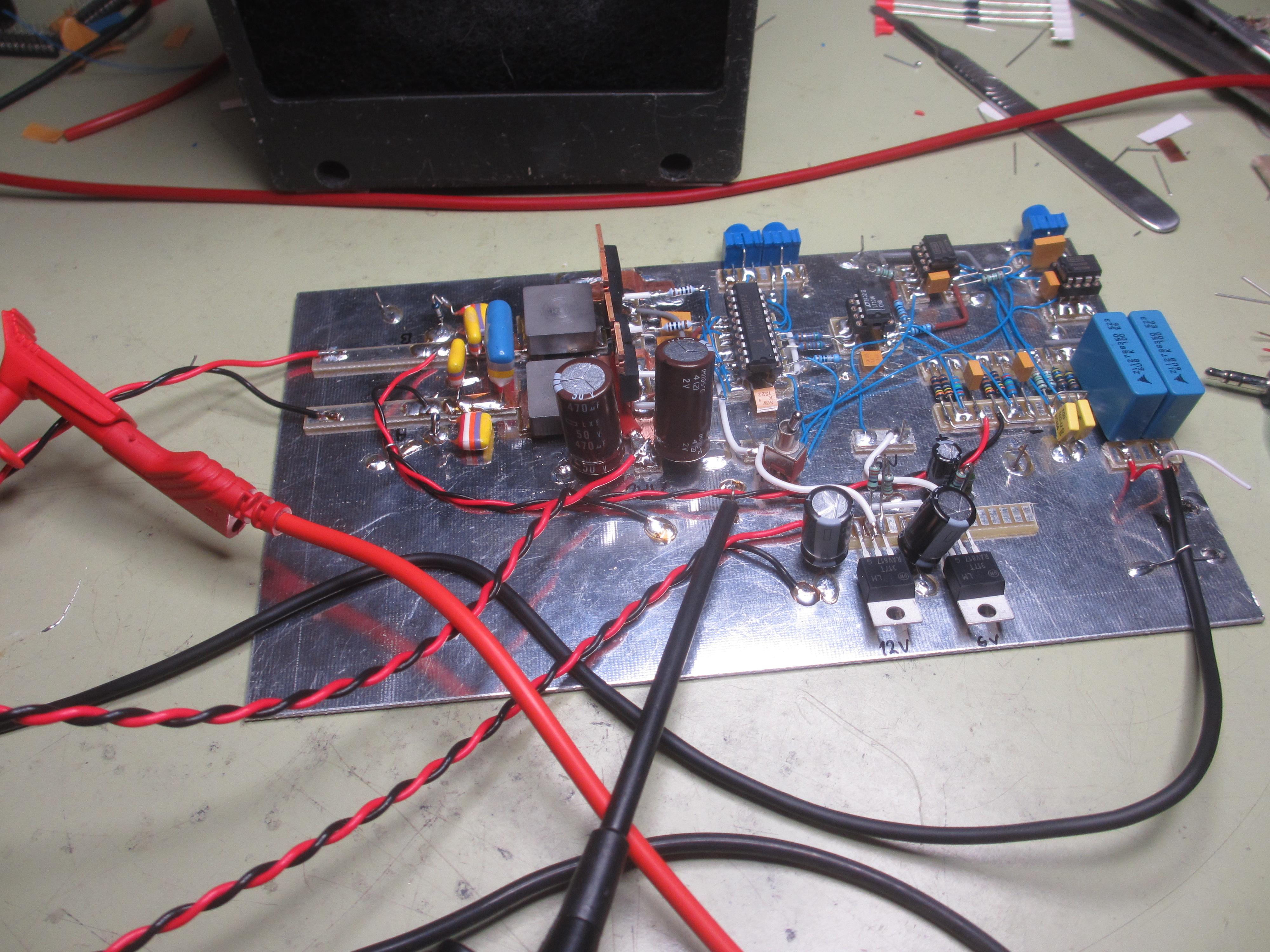 100W Class D Amplifier | Simon's SatCom Page