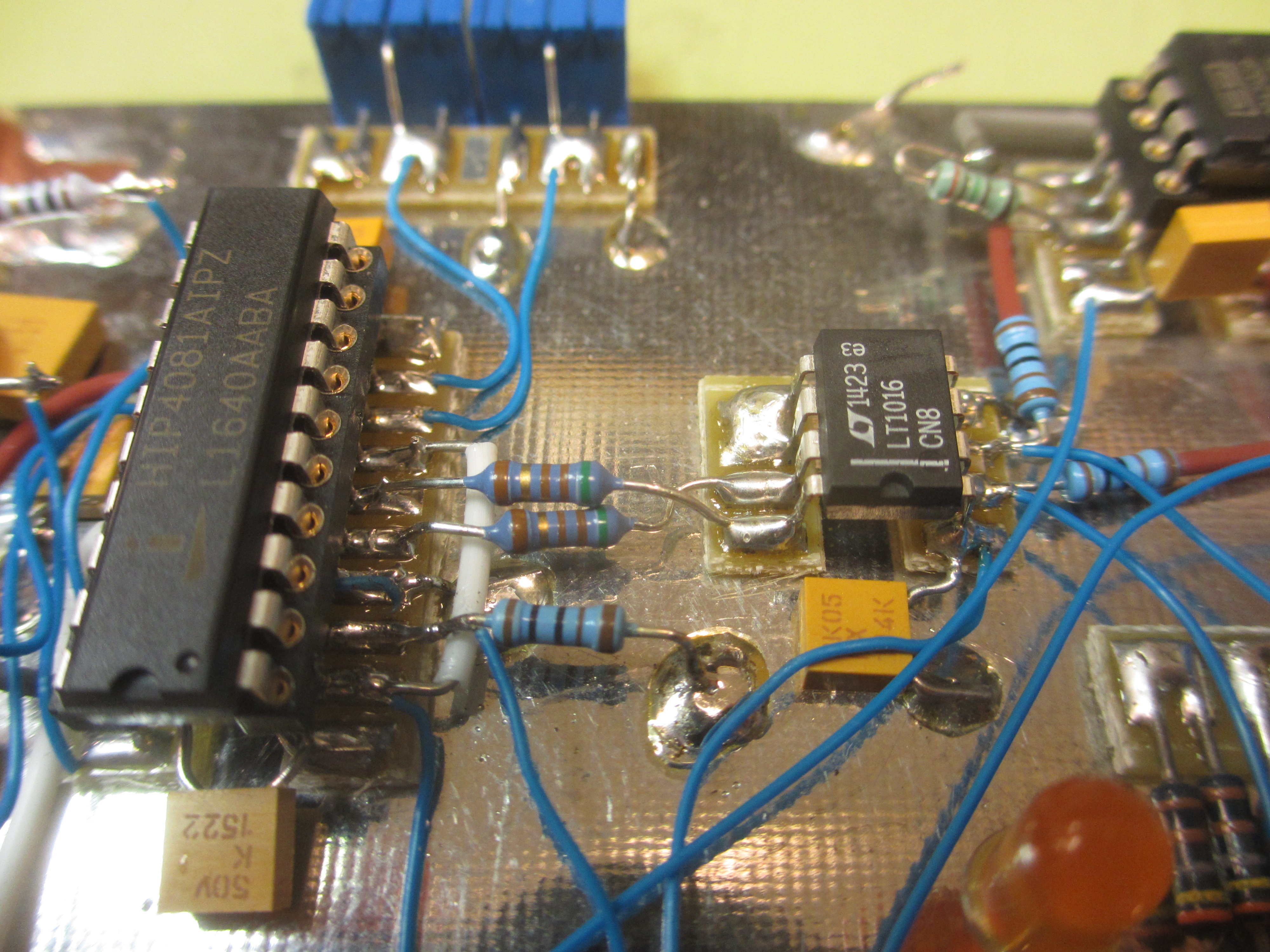 100w Class D Amplifier Simons Satcom Page Power Circuit Design Below You Can See That By Removing The Dil Socket Some Of Ringing Has Been Removed If Build This It Would Be A Good Idea To Do With