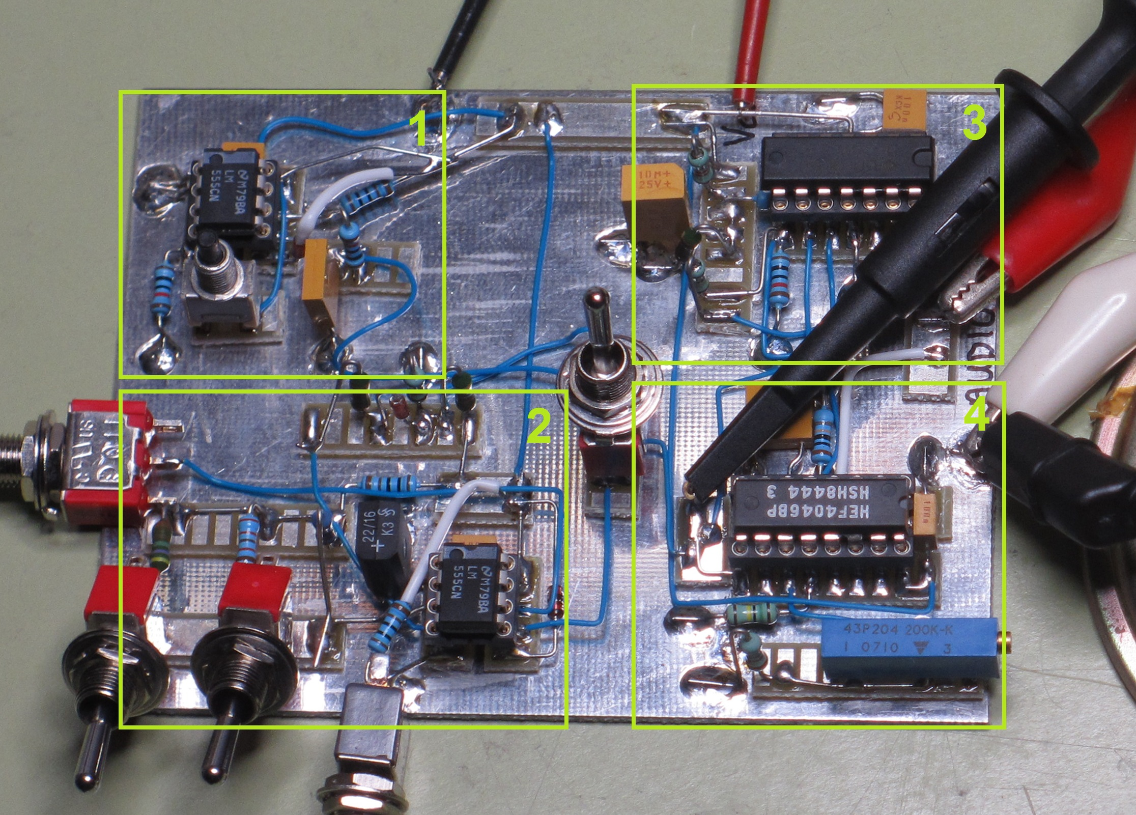 Police Siren Simons Satcom Page Simple Using Dual Opamp Electronics Project 1 Air Horn Circuit